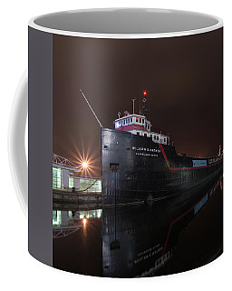 William G Mather At Night  Coffee Mug