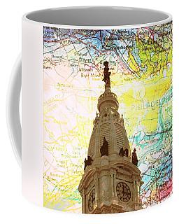 William Penn City Hall V3 Coffee Mug