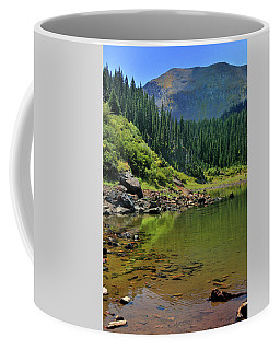 Coffee Mug featuring the photograph Williams Lake by Ron Cline