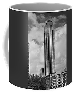 Williams Tower In Black And White Coffee Mug