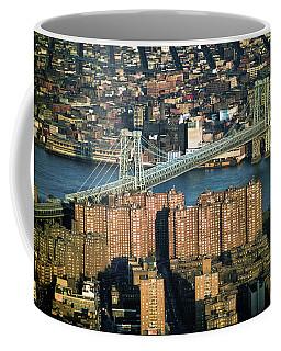 Williamsburg Bridge New York City Coffee Mug