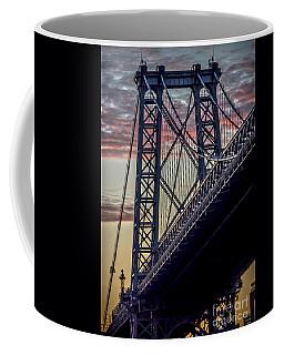 Williamsburg Bridge Structure Coffee Mug
