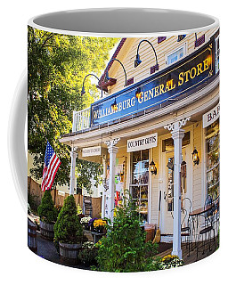 Williamsburg General Store Mass Coffee Mug