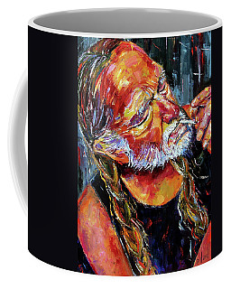 Willie Nelson Booger Red Coffee Mug