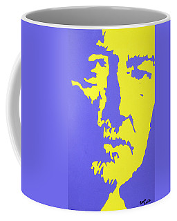 Willie Nelson In The Mirror Coffee Mug