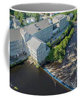 Willimantic River And Mill #2 Coffee Mug