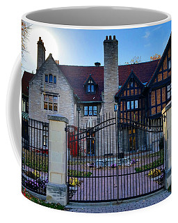 Coffee Mug featuring the photograph Willistead Manor by Michael Rucker