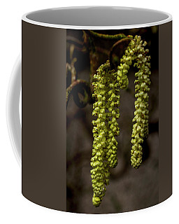 Coffee Mug featuring the photograph Willow Catkins by Keith Elliott