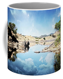 Willow Lake Reflections Coffee Mug