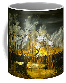 Willow On The Shore Coffee Mug