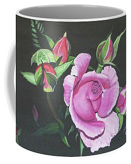 Will's Rose Coffee Mug