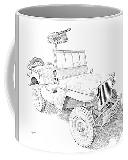 Willy In Ink Coffee Mug