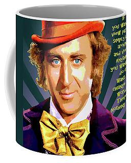 Willy Wonka Inspirational Poster Coffee Mug