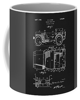 Willy's Military Jeep Patent Coffee Mug