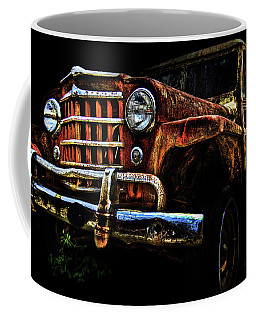 Coffee Mug featuring the photograph Willy's Station Wagon by Glenda Wright