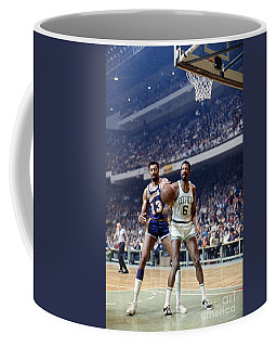 Wilt Chamberlain (1936-1999) Coffee Mug
