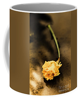 Wilting Puddle Flower Coffee Mug
