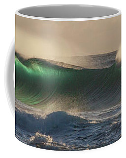 Wind And Waves Coffee Mug by Roger Mullenhour