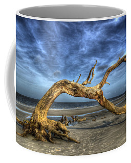 Coffee Mug featuring the photograph Wind Bent Driftwood by Greg and Chrystal Mimbs