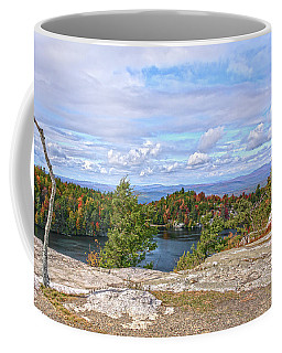 Wind Blown Tree In Autumn Coffee Mug