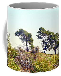 Wind Blown Trees Coffee Mug