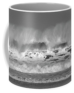 Wind Blown Waves Coffee Mug
