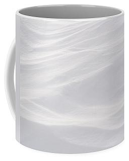 Wind Carved Snow Coffee Mug