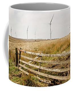 Wind Farm On Miller's Moss. Coffee Mug