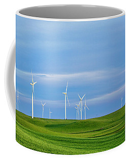 Coffee Mug featuring the photograph Wind Farm by Randy Bayne