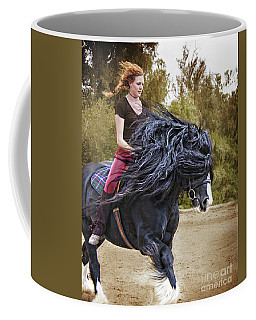 Wind In My Mane Coffee Mug