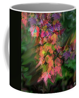 Coffee Mug featuring the photograph Wind In The Maple by Wayne King