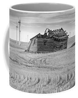 Coffee Mug featuring the photograph Wind On The Plains by Fran Riley