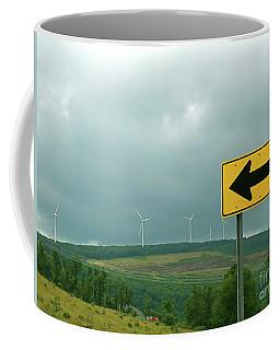 Wind Power. Direction Of Energy. Coffee Mug