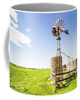 Wind Powered Farming Station Coffee Mug