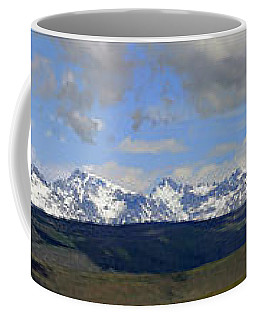 Dm9504-wind River Range Panorama  Coffee Mug