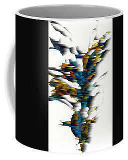 Coffee Mug featuring the painting Wind Series 08.072311wscvss by Kris Haas