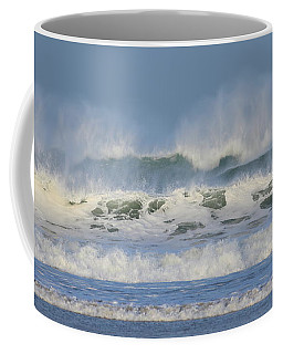 Wind Swept Waves Coffee Mug