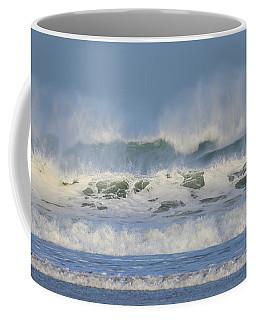 Wind Swept Waves Coffee Mug