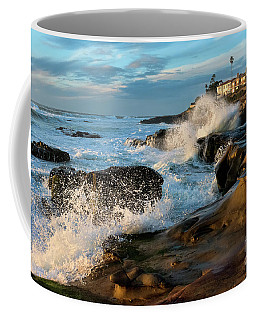 Windansea Beach At High Tide Coffee Mug