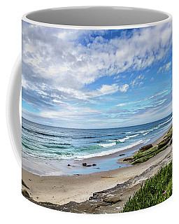 Coffee Mug featuring the photograph Windansea Wonderful by Peter Tellone
