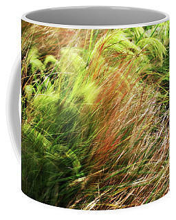 Windblown Grasses Coffee Mug