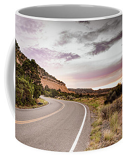 Winding Desert Road Coffee Mug