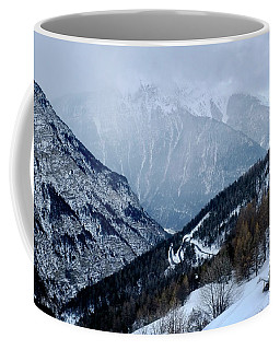 Winding Road In The Alps Coffee Mug