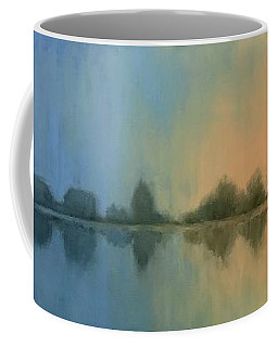 Windmill At Dawn Coffee Mug