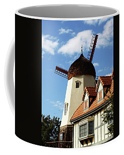 Windmill At Solvang, California Coffee Mug