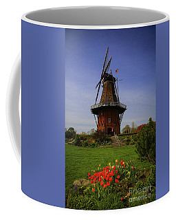 Windmill At Tulip Time Coffee Mug