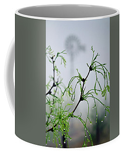 Windmill In The Mist Coffee Mug