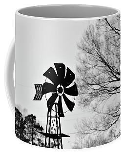 Windmill On The Farm Coffee Mug