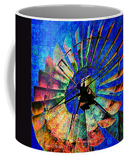 Windmill Power Coffee Mug
