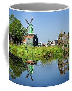 Windmill Reflection Coffee Mug